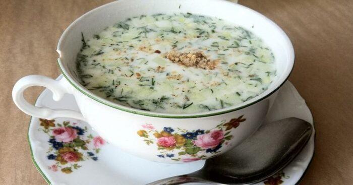 Диетический суп Таратор