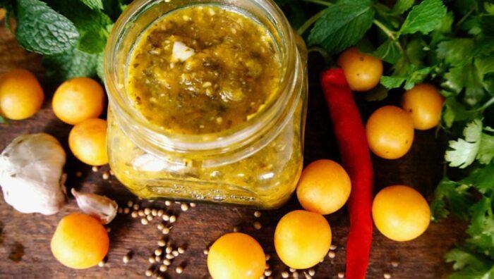 Рецепты приготовления соуса ткемали из слив на зиму