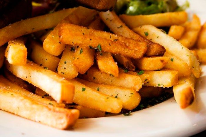 Как приготовить картофель фри в СВЧ-печке