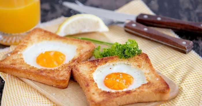 В хлебе (по-французски)