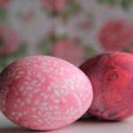 Яйца к Пасхе. Оригинальная покраска яиц