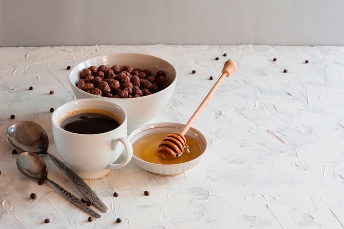 Рецепты кофе для похудения с медом