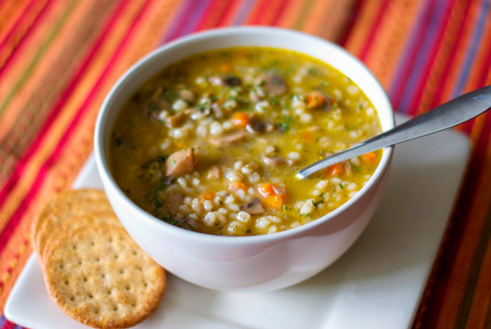 Гречневый суп с овощами